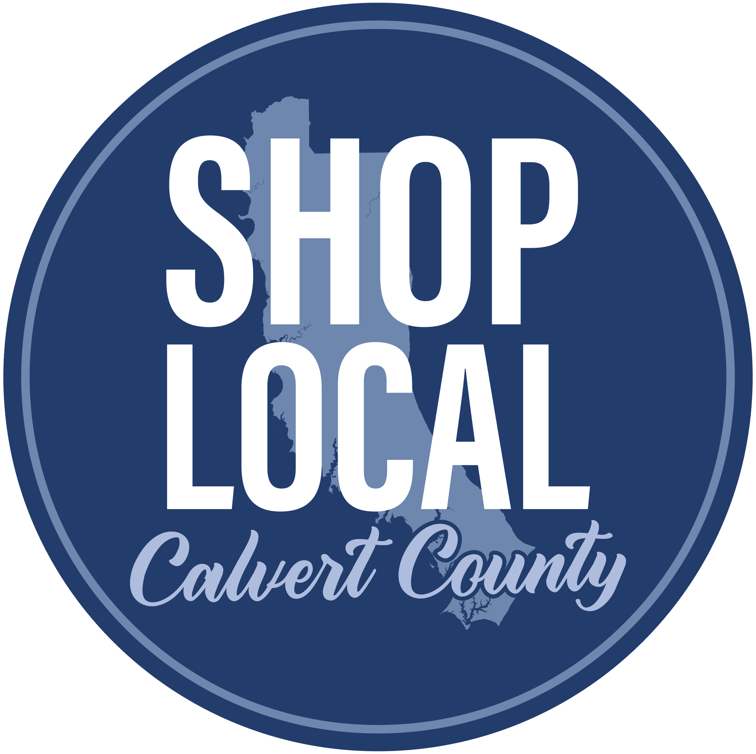 DED_Calvert Shop Local Logo Blue